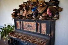 Got boots? Glen Helen Resort does